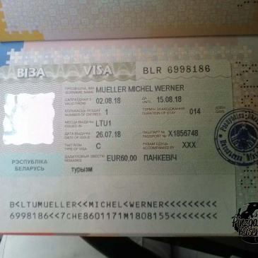 Viel Papier für Belarus